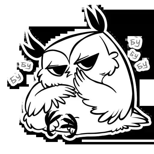 Sova - Sticker 7