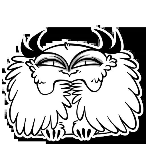 Sova - Tray Sticker