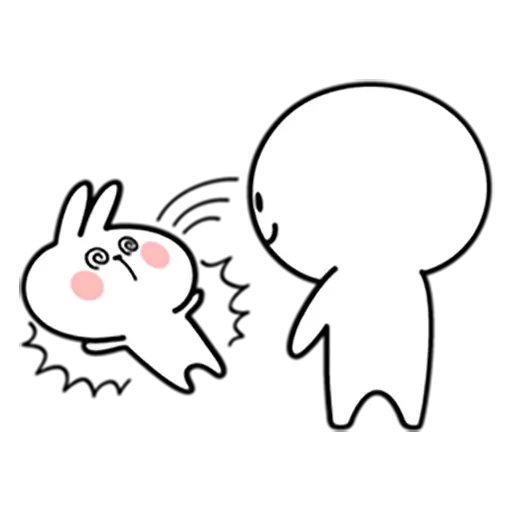 Spoiled rabbit 忙碌碌版 - Sticker 8