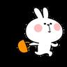 Spoiled rabbit 忙碌碌版 - Tray Sticker