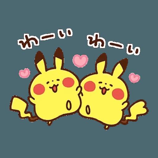 kanahei×pokemon - Sticker 22