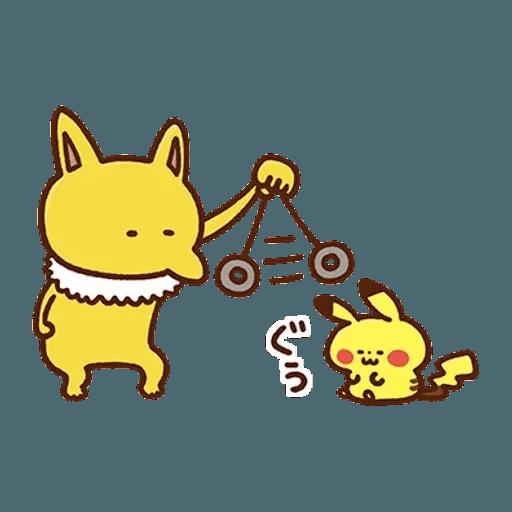 kanahei×pokemon - Sticker 30