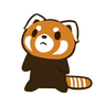 RedPanda - Tray Sticker