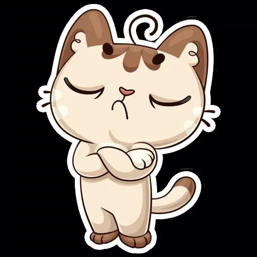 Котик - Sticker 20