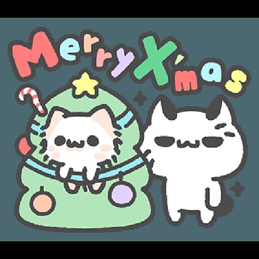 Akunya and Maonya's winter daily 2 - Tray Sticker