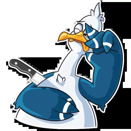 Mr. Gull - Sticker 20
