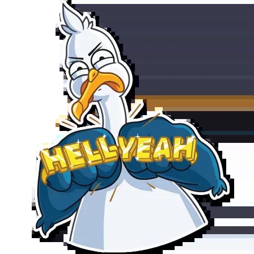 Mr. Gull - Sticker 7