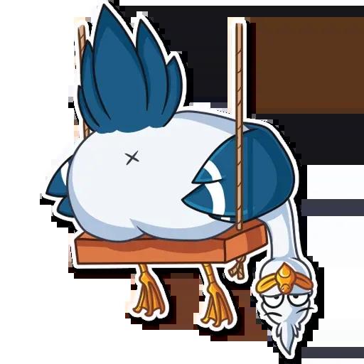 Mr. Gull - Sticker 28