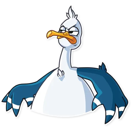 Mr. Gull - Sticker 16