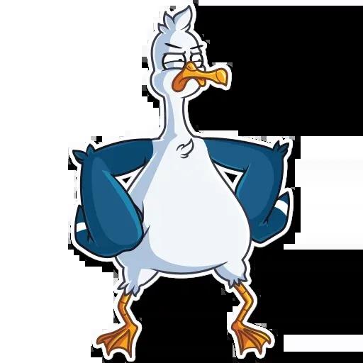 Mr. Gull - Sticker 30