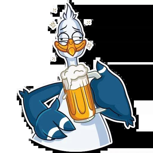 Mr. Gull - Sticker 14