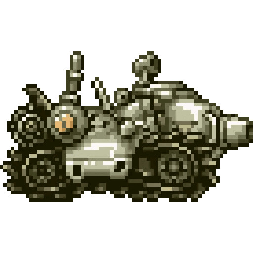 Metal slug 2 - Sticker 25