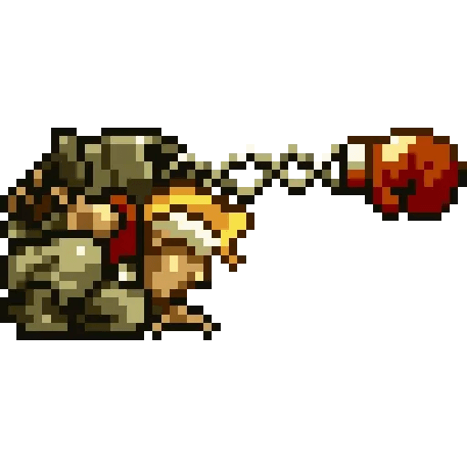 Metal slug 2 - Sticker 5