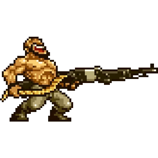 Metal slug 2 - Sticker 21