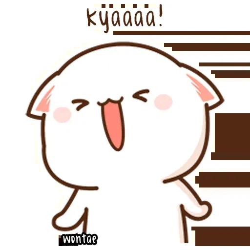 Mochi Cat 1 - Sticker 7