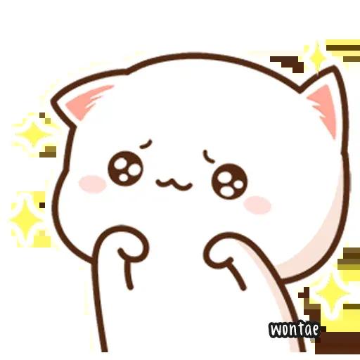 Mochi Cat 1 - Sticker 30