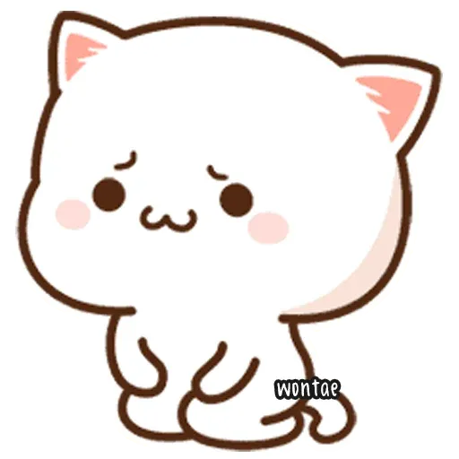 Mochi Cat 1 - Sticker 25