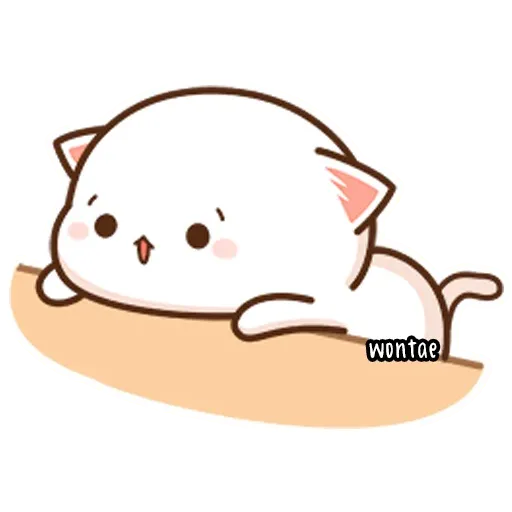 Mochi Cat 1 - Sticker 4