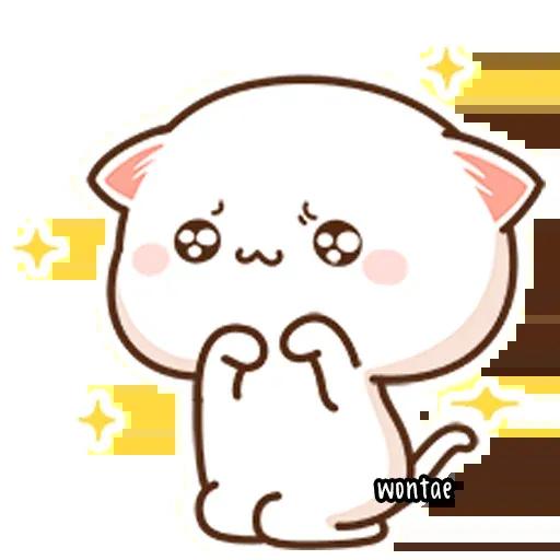 Mochi Cat 1 - Sticker 5