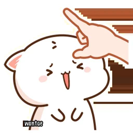 Mochi Cat 1 - Sticker 19