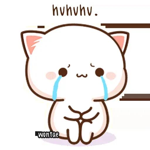 Mochi Cat 1 - Sticker 9