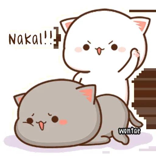 Mochi Cat 1 - Sticker 27