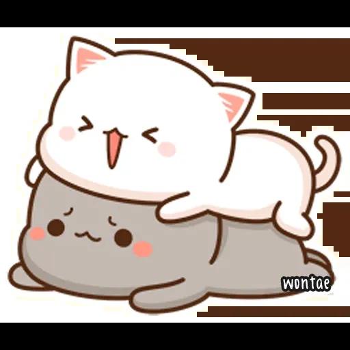 Mochi Cat 1 - Sticker 8