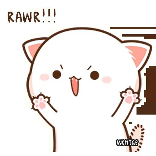 Mochi Cat 1 - Sticker 23