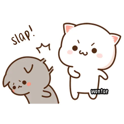 Mochi Cat 1 - Sticker 2