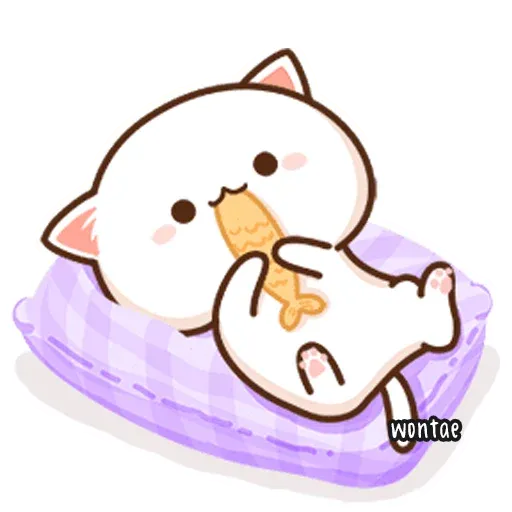 Mochi Cat 1 - Sticker 26
