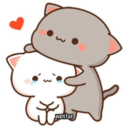 Mochi Cat 1 - Sticker 13