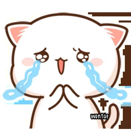 Mochi Cat 1 - Sticker 3