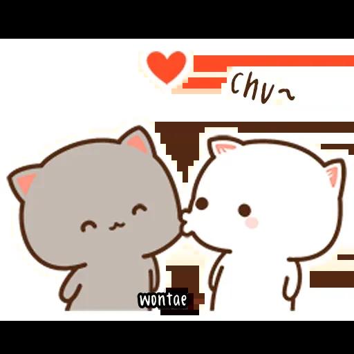 Mochi Cat 1 - Sticker 1