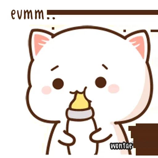 Mochi Cat 1 - Sticker 22