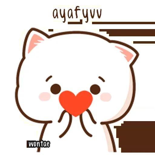 Mochi Cat 1 - Sticker 20