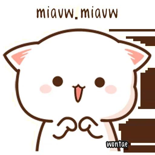 Mochi Cat 1 - Sticker 15
