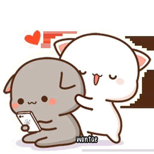 Mochi Cat 1 - Sticker 17