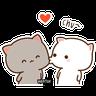 Mochi Cat 1 - Tray Sticker
