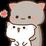 uglyblackcat - Tray Sticker