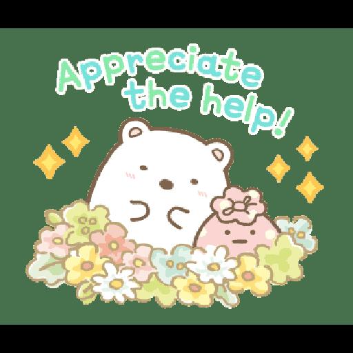 すみっコぐらしの日常スタンプ - Sticker 4