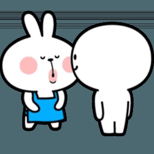 Spoiled rabbit 10 - Sticker 3