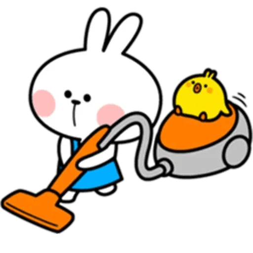 Spoiled rabbit 10 - Sticker 25