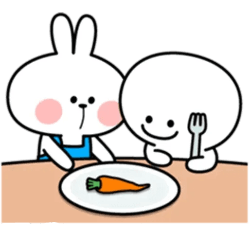Spoiled rabbit 10 - Sticker 10