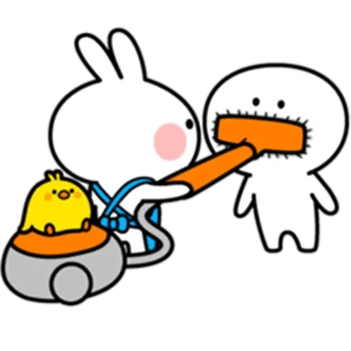 Spoiled rabbit 10 - Sticker 26