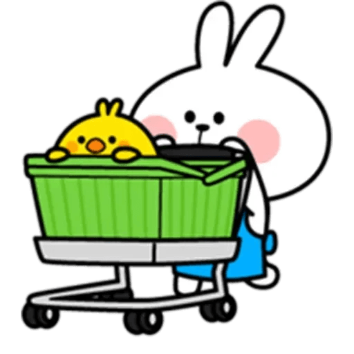 Spoiled rabbit 10 - Sticker 15