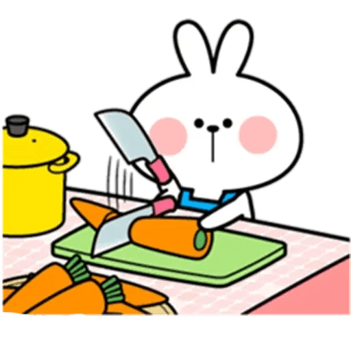 Spoiled rabbit 10 - Sticker 20