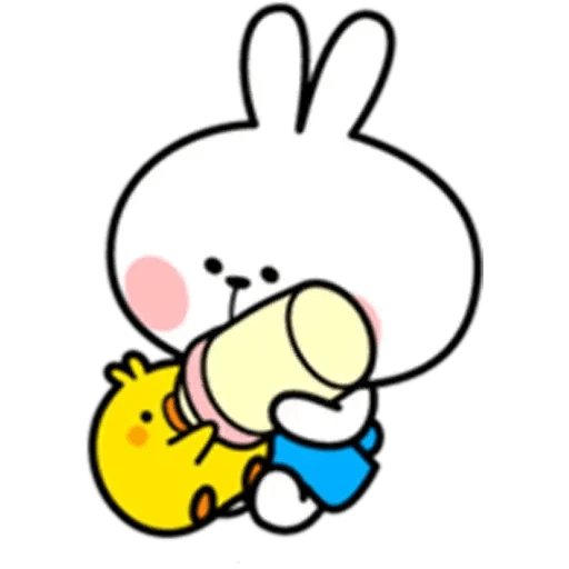 Spoiled rabbit 10 - Sticker 18