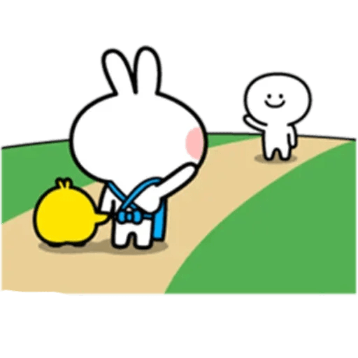 Spoiled rabbit 10 - Sticker 2