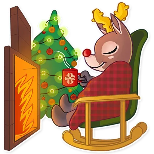 Mr. Deer - Sticker 19