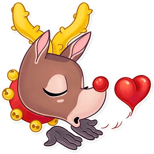 Mr. Deer - Sticker 4